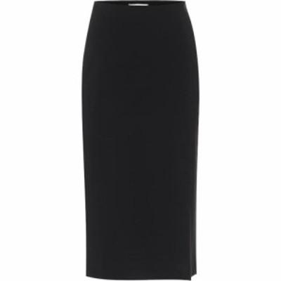 ドロシー シューマッハ Dorothee Schumacher レディース ひざ丈スカート スカート Emotional Essence high-rise skirt Pure Black