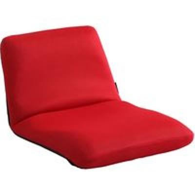 ホームテイストホームテイスト Leraar-リーラー- 座椅子 リクライニング Sサイズ レッド SH-07-LER-S 1脚(直送品)