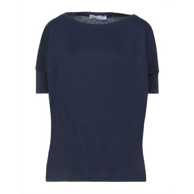 AMINA RUBINACCI T シャツ ブルーグレー 40 コットン 100% T シャツ
