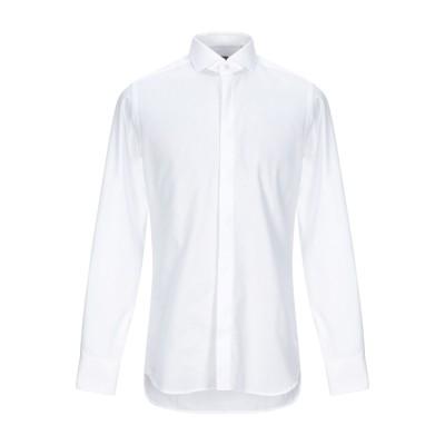 XACUS シャツ ホワイト 45 コットン 100% シャツ