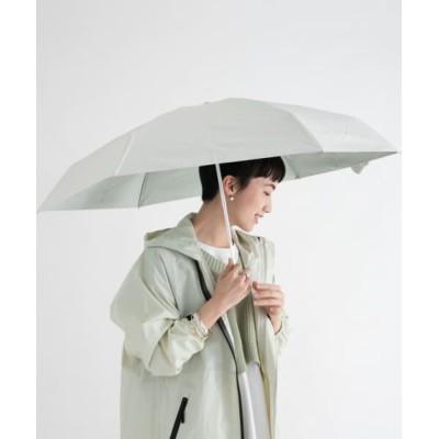 ameme/アメメ ポートリー遮光遮熱付き折畳傘 ホワイト FREE
