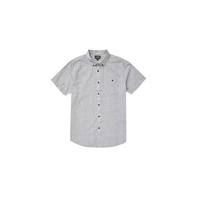 ビラボン All Day Short Sleeve Woven メンズ シャツ トップス Light Grey