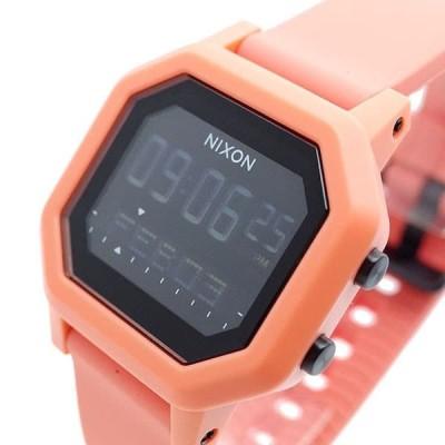 ニクソン 腕時計 メンズ&レディース SIREN NIXON ブラック ピンクオレンジ