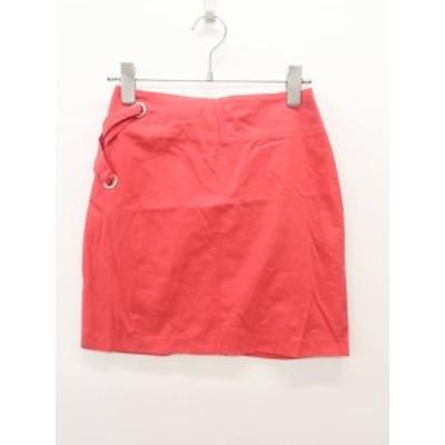 Delyle NOIR(デイライルノアール)サイドレースアップスカート 赤 レディース 新品 99