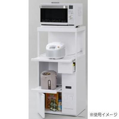 エムケー精工 レンジ台 ファインキッチン 組立式 SK-306W 【メーカー直送・代引不可】