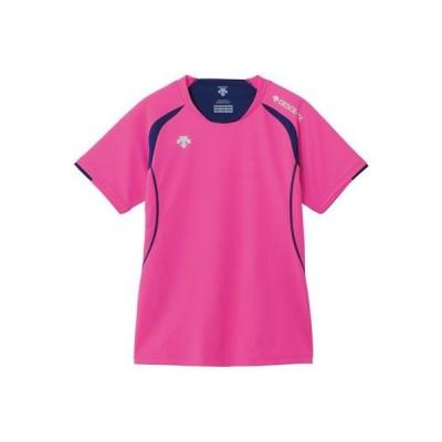 メール便OK DESCENTE(デサント) DSS-5421W レディース 半袖ゲームシャツ バレーボール PPK