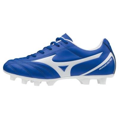 ミズノ モナルシーダ NEO SELECT Jr(サッカー)[ジュニア] 01ブルー×ホワイト 22.5 フットボール/サッカー シューズ P1GB2025