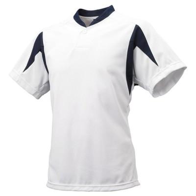 ジュニア1ボタンベースボールTシャツ【SSK】エスエスケイ(BT2300J)