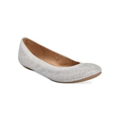 バンドリーノ レディース サンダル シューズ Edition Women's Ballet Flats Silver-Tone Glitz
