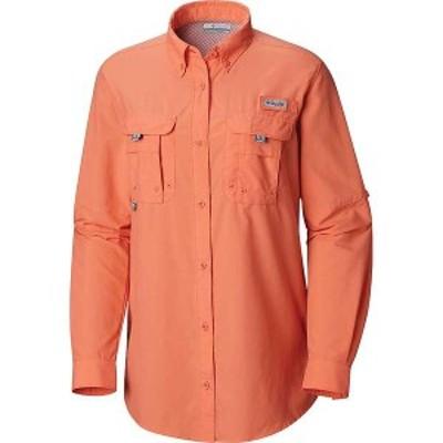 コロンビア レディース シャツ トップス Columbia Women's Bahama LS Shirt Lychee