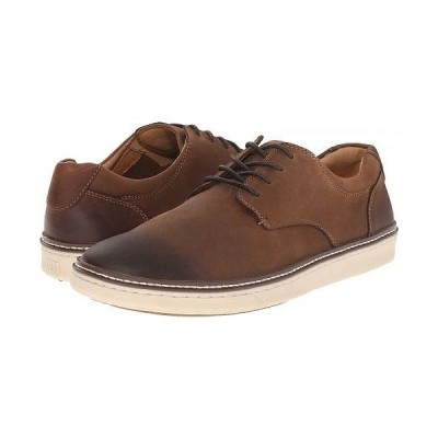 Johnston & Murphy ジョーンストンアンドマーフィー メンズ 男性用 シューズ 靴 スニーカー 運動靴 McGuffey Casual Plain Toe Sneaker - Brown Oiled Full
