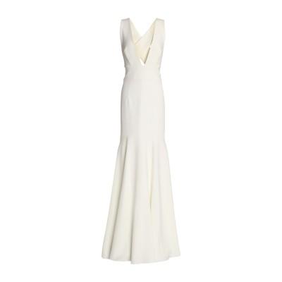 ミリー MILLY ロングワンピース&ドレス ホワイト 8 ポリエステル 91% / ポリウレタン 9% ロングワンピース&ドレス