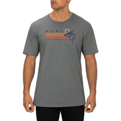 ハーレー シャツ トップス メンズ Hurley Men's Ahi T-Shirt SmokeGrey