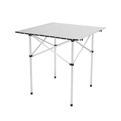 Outdoor Folding Portable Picnic Camping Table, Aluminum Roll-up Table with Easy Carrying Bag for Indoor,Outdoor,Camping, Beach,Backyard, BBQ