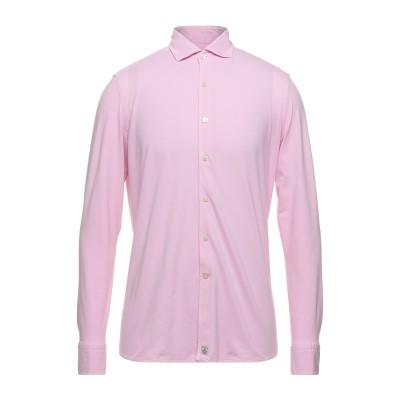 SONRISA シャツ ピンク L コットン 97% / ポリウレタン 3% シャツ