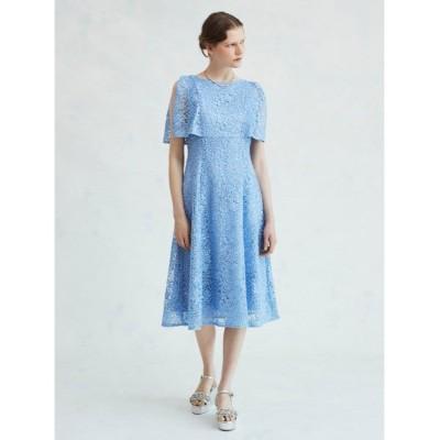 【セルフォード】 スパンコール刺繍ドレス レディース ブルー 38 CELFORD