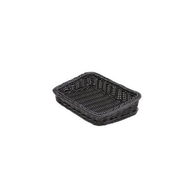 萬洋 樹脂製太渕ディスプレイかご 傾斜型 小 黒 91-028B WKG3702