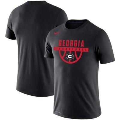 """ナイキ メンズ Tシャツ """"Georgia Bulldogs"""" ジョージア大学 Nike Basketball Drop Legend Performance T-Shirt 半袖 Black"""