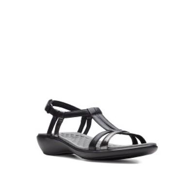 クラークス レディース サンダル シューズ Collection Women's Sonar Aster Sandal Black Leather/synthetic Combi