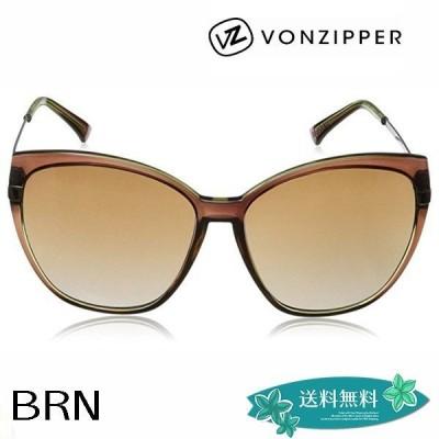 ボンジッパーサングラス ブランド かわいい 20代 30代 40代 プレゼント 大人女子 大きめレンズ VONZIPPER BEGONIA AD217-025