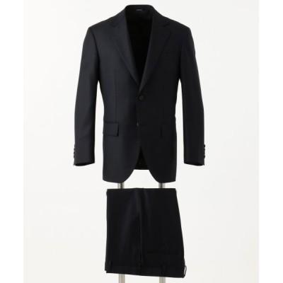J.PRESS/ジェイプレス 【DORMEUIL AMADEUS365】プレーンツイル CLASSICS 2B スーツ ネイビー系 A6