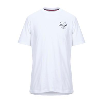 ハーシェル サプライ HERSCHEL SUPPLY CO. T シャツ ホワイト S コットン 100% T シャツ