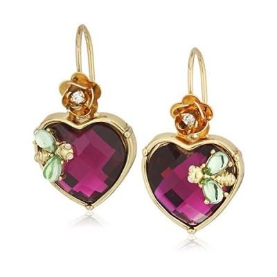 ベッツィ・ジョンソン ピアス アメリカ B12487-E01 Betsey Johnson Stone Heart Drop Earrings