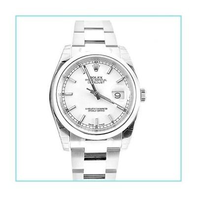 Rolex Datejust 36ホワイトインデックスダイヤル鋼オイスター時計116200【並行輸入品】