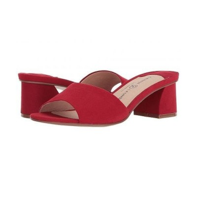 Chinese Laundry チャイニーズランドリー レディース 女性用 シューズ 靴 ヒール My Girl Sandal - Lollipop Red Microsuede/Synthetic