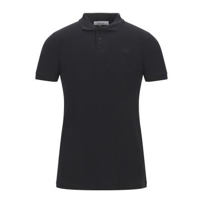ハマキホ HAMAKI-HO ポロシャツ ブラック M コットン 95% / ポリウレタン 5% ポロシャツ