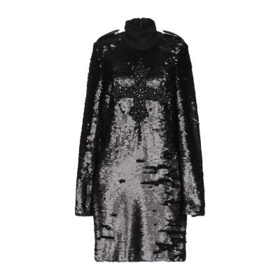 LUCILLE ミニワンピース&ドレス ブラック 40 ポリエステル 100% ミニワンピース&ドレス