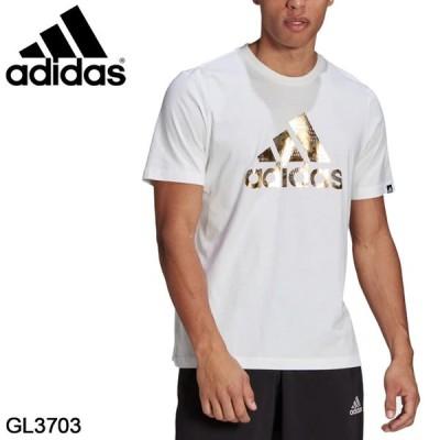 半袖 Tシャツ メンズ adidas アディダス M 8BITFOIL グラフィック Tシャツ/スポーツウェア トレーニング ビッグロゴ クルーネック 白 ホワイト /28707-GL3703