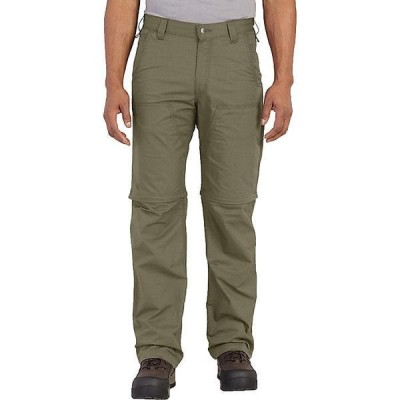 (取寄)カーハート メンズ フォース エクストリームス コンバーチブル パンツ Carhartt Men's Force Extremes Convertible Pant Burnt Olive 送料無料