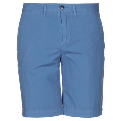 HENRY COTTON'S ショートパンツ&バミューダパンツ  メンズファッション  ボトムス、パンツ  ショート、ハーフパンツ ブルーグレー