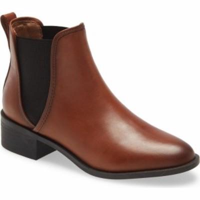 スティーブ マデン STEVE MADDEN レディース ブーツ シューズ・靴 Dares Bootie Cognac Leather