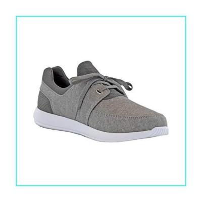 【新品】Margaritaville Men's 2 Eye Cage Sneaker Shoe, Dark Grey, 12(並行輸入品)