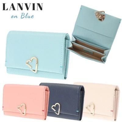 ランバンオンブルー カードケース 名刺入れ LANVIN en Bleu ロシェ 牛革 482583