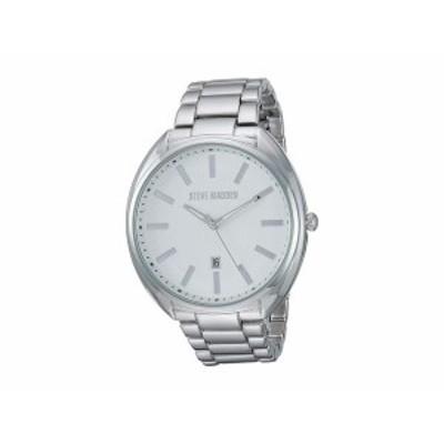 スティーブ マデン メンズ 腕時計 アクセサリー Classic Link Watch SMW252 Silver