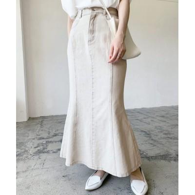 Lian / デニム/ヘビーツイルマーメイドスカート WOMEN スカート > デニムスカート