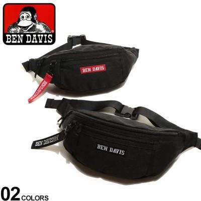 ベンデイビス バッグ BEN DAVIS ロゴ刺繍 ウエストバッグ ウエストポーチ ボディバッグ メンズ レディース 鞄 ボディーバッグ スポーツ ユニセックス BDW9274