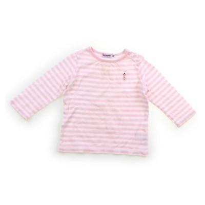ミキハウス mikiHOUSE Tシャツ・カットソー 80サイズ 女の子 子供服 ベビー服 キッズ