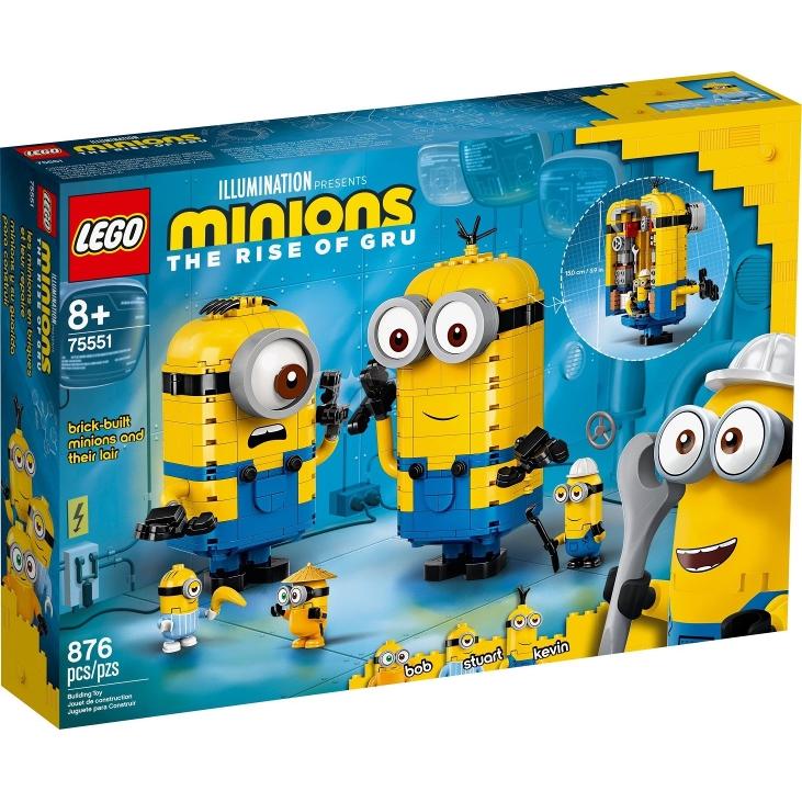 LEGO 75551 小小兵系列 磚拼小小兵與他們的基地【必買站】樂高盒組