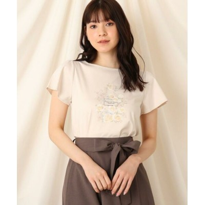 Couture Brooch/クチュールブローチ パルファムローズTシャツ ピンク(070) 40(L)