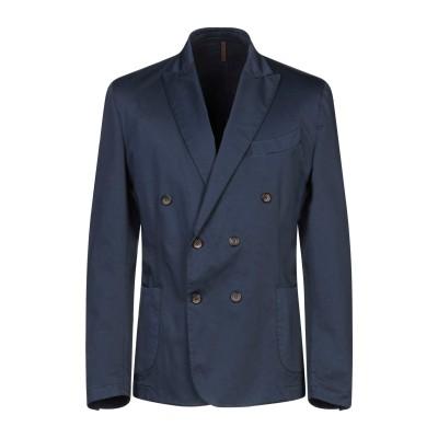 LABORATORI ITALIANI テーラードジャケット ダークブルー 52 コットン 97% / ポリウレタン 3% テーラードジャケット