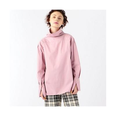 <CABaN/キャバン> コットン ハイネックシャツ 33ピンク【三越伊勢丹/公式】