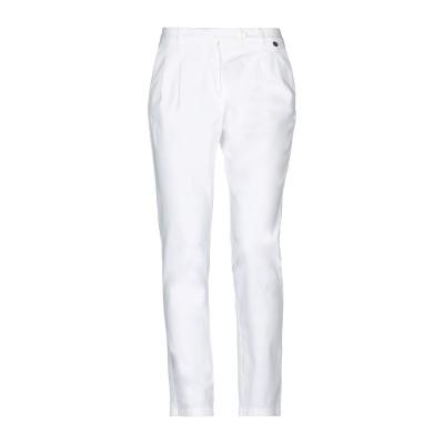 ジャスト・フォー・ユー JUST FOR YOU パンツ ホワイト 44 コットン 98% / ポリウレタン 2% パンツ