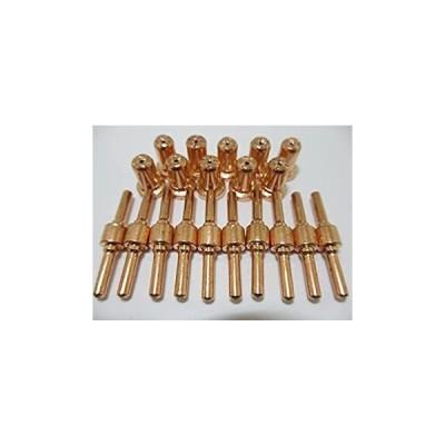 プラズマ カッター ロング ノズル & チップ 切断機 消耗品 10個 セット(中古品)