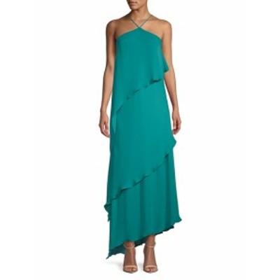 ハルストンヘリテージ レディース ワンピース Layered Sleeveless Silk Dress