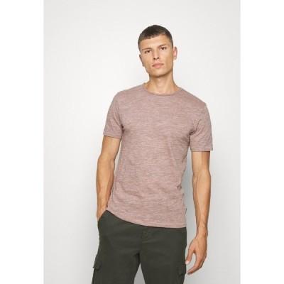 オンリーアンドサンズ Tシャツ メンズ トップス ONSALBERT LIFE NEW TEE - Basic T-shirt - misty rose