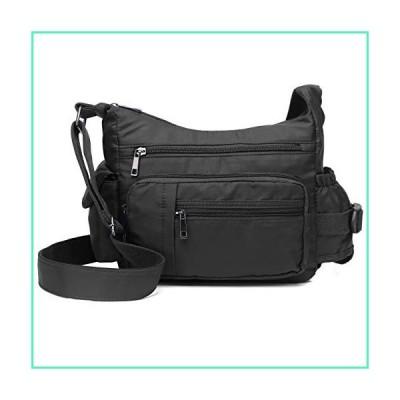 RFID Anti Thief Crossbody Bag for Women Waterproof Shoulder Bag Messenger Bag Casual Nylon Purse Handbag並行輸入品